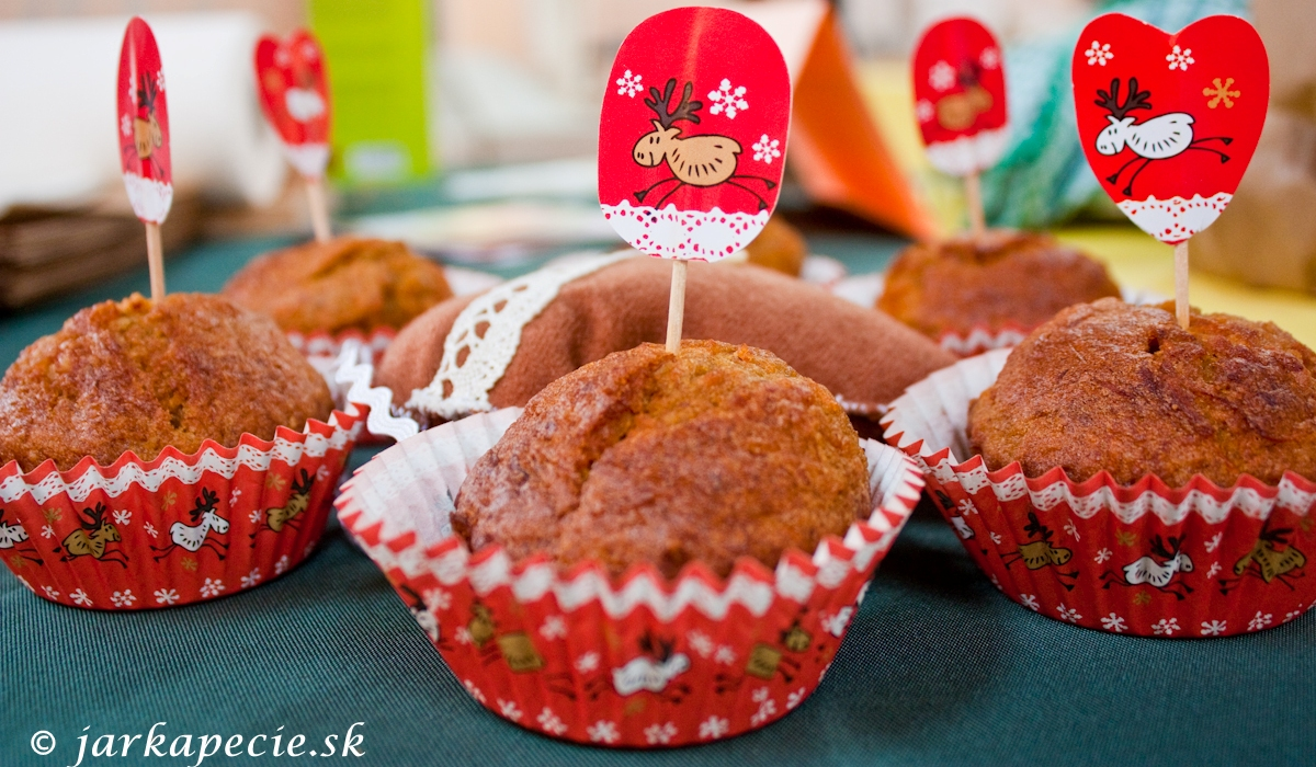 Mrkvové muffinky – bez lepku a laktózy