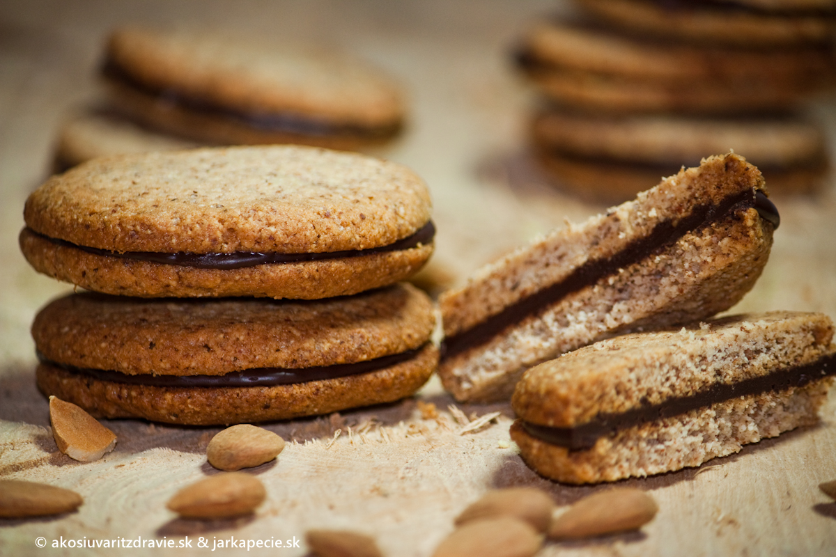 Chrumkavé mandľové sušienky
