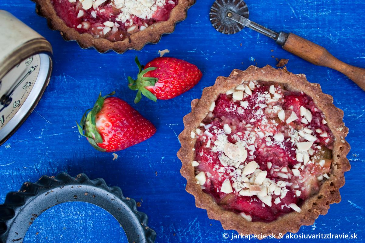 Tartaletky so sezónnym ovocím – bez lepku