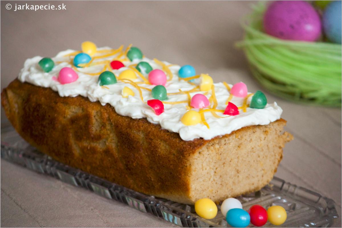 Citrónový chlebíček – bez lepku a bez laktózy