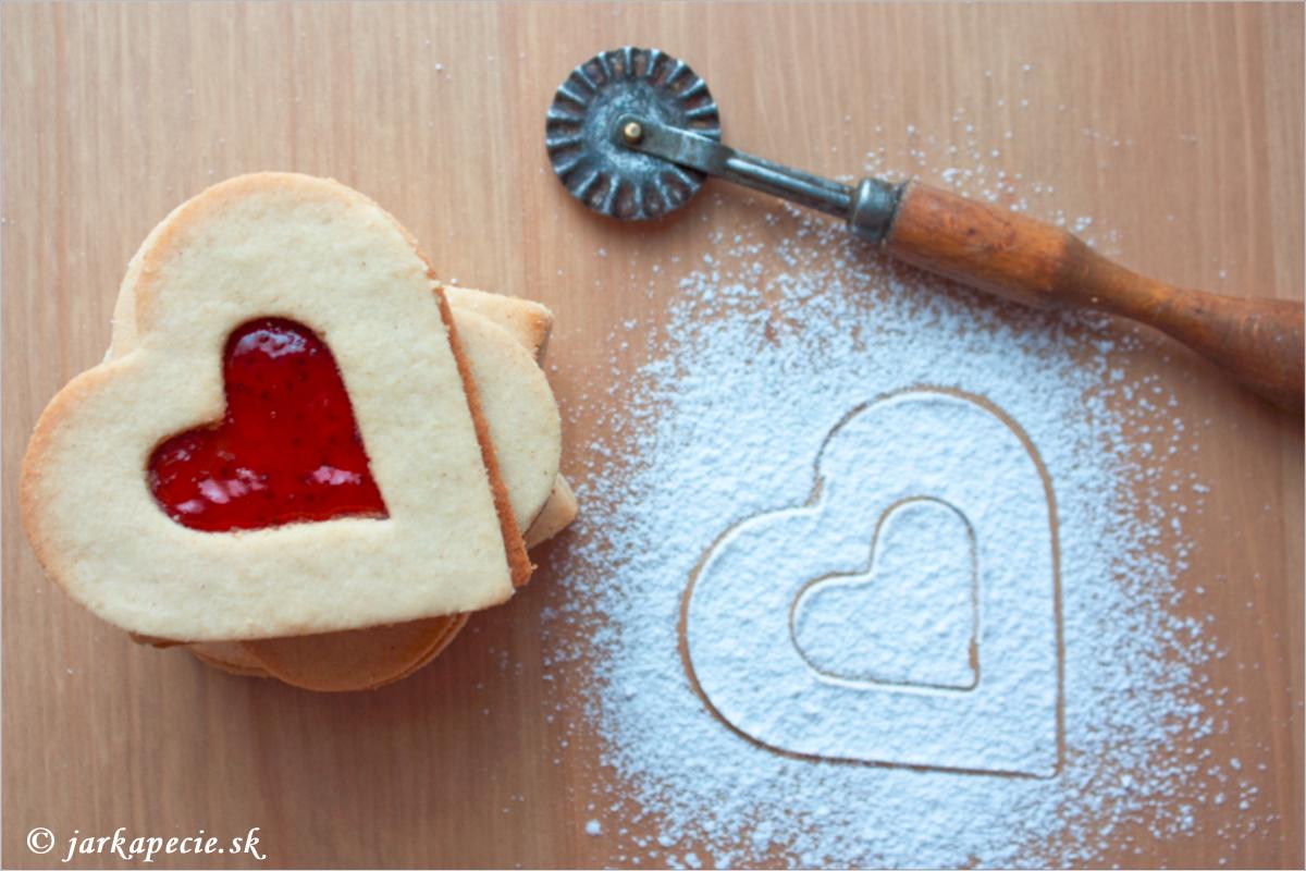 Linecké keksy –  bez lepku