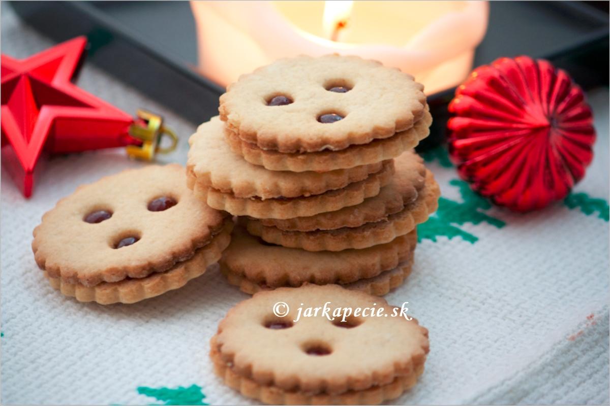 Linecké keksy s kváskom – bez lepku