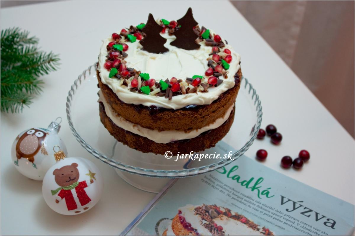 Perníkové tiramisu – torta