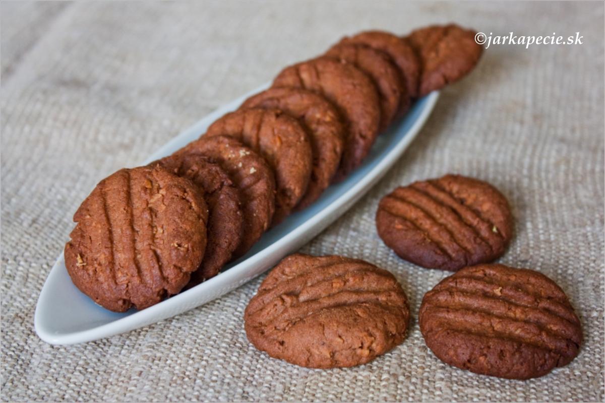 Kokosové keksy s kakaom( kokosky )