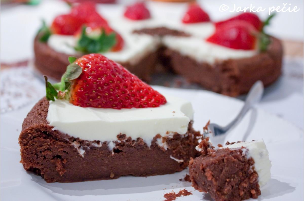 Gaštanovo-čokoládová torta – bezlepku