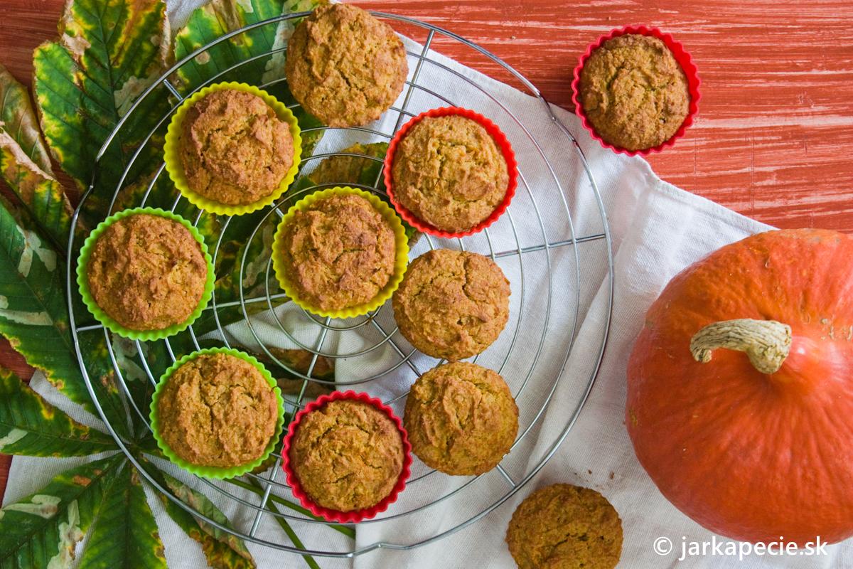 Tekvicové muffiny s goji