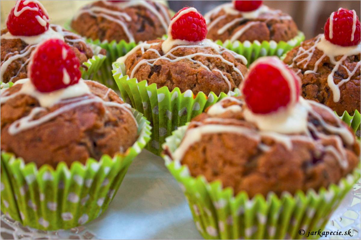 Muffiny z cukety – bez lepku
