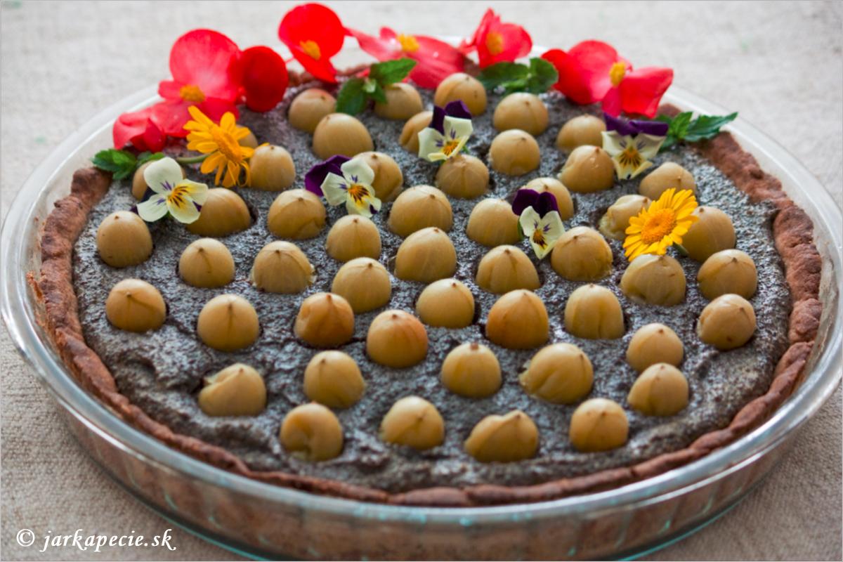 Makovo – egrešový koláč – bez lepku
