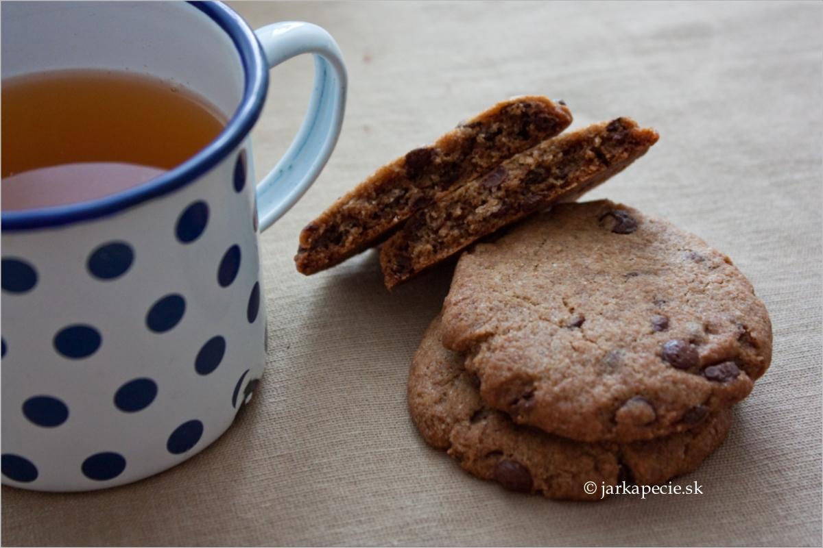 Pohánkové sušienky s čokoládou – vegan, bez lepku a laktózy